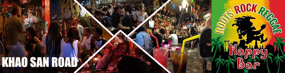 Happy Bar, Rambuttri Rd., Khao San